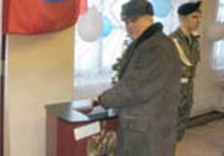 Президент российских баптистов голосовал на Колыме