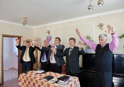 Освящение дома Молитвы в Хабаровском крае