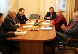 Председатель РС ЕХБ А.В.Смирнов встретился с представителями ВСЕХ
