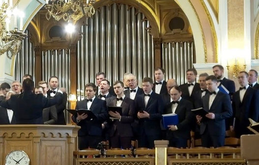 Гости из нижнего Новгорода посетили Московскую центральную церковь