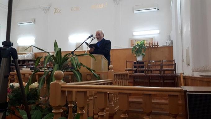 """""""Духовная война"""" – региональное братское общение в г. Зеленокумске"""